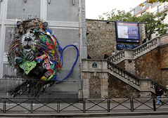 BAP_6007 BORDALO (WORLD OF FMR) Tags: bordalo trash trashart recuperation waste art animal concept installation recyclage recycling