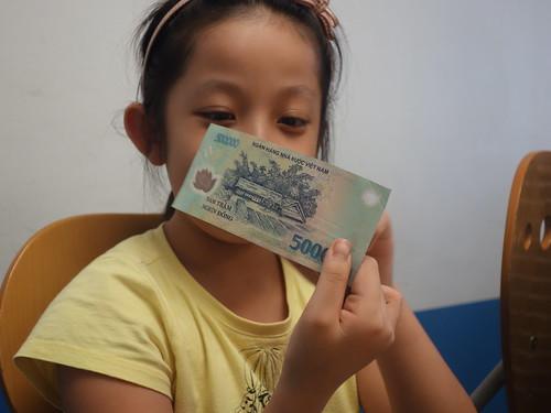 Le plus gros billet vietnamien de 500 000 dongs