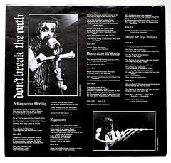 A0455 MERCYFUL FATE Dont Break The Oath (vinylmeister) Tags: vinylrecords albumcoverphotos heavymetal thrashmetal deathmetal blackmetal vinyl schallplatte disque gramophone album