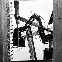 #deconstruction #stendec #gammaproforma  #wizardkings #graffuturism #abstractart #geometry #freehand #linework #sketch #blackbook #city #hackneywick #eastlondonart (s-t-e-n-d-e-c) Tags: stendec wwwstendeccom art illustration deconstruction gammaproforma wizardkings graffuturism abstractart geometry freehand linework sketch blackbook city hackneywick eastlondonart