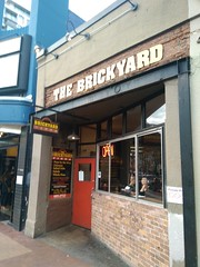 Brickyard Pizza (kevin_in_bc) Tags: signs victoria windows pizza storefront downtown buildings