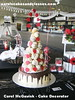 485 (Carol's Cakes & Classes, Broken Hill) Tags: wedding cakes croquembouche white drizzle cake heart chocolate