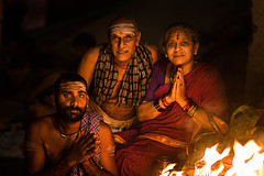 Family (Harshal Orawala) Tags: india 121clicks natgeo varanasi family light face culture festival