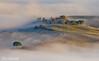 toscana4R-12 (Stanislav Don Simon) Tags: agro castle cloud fog italy sky sunrise sunset true tuscany деревня дерево закат замок италия небо облака пашня поле рассвет тоскана