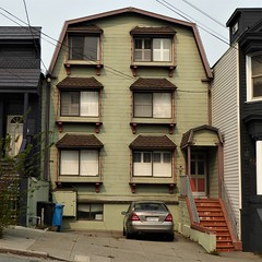 San Francisco, CA, Noe Valley, Duplex Residence (Mary Warren 13.5+ Million Views) Tags: sanfranciscoca noevalley architecture building house residence victorian stairs windows