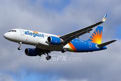 Allegiant Air Airbus A320-214 - N250NV (AeroPX) Tags: aeropx airbusa320 allegiantair caryliao ewing kttn n250nv nj newjersey ttn trentonmercercountyairport httpaeropxcom httpcaryliaocom