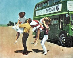 Summer Holiday movie lobby card close up 1963. (Ledlon89) Tags: londonbus londonbuses transport summerholiday movie film cliffrichard musical lt lte londontransport vintagebuses vintagebus 1962 1960s oldfilms cinema lobbycards pictures