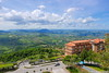 Panoramic viewpoint in San Marino (Hariton Andrei Marius) Tags: canoneos100d canon wideviewpoint spring panorama panoramicviewpoint nature landscape natura paesaggio sanmarino sky cielo warmcolors warmcolours photoshop