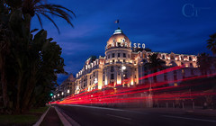 Le Negresco (CT photographie) Tags: frenchriviera france perspective canon capture cotedazur ctphotographie colors manfrotto mediteranean luxurylife nice villedenice 06 longexposure la promenade des anglais nissa night negresco hotel