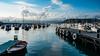 Lerici, Italy (BalintL) Tags: lerici italy boats sea clouds sky blue water
