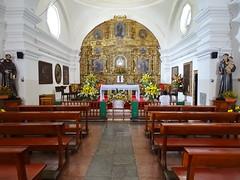 Ciudad de Guatemala altar mayor interior Cerrito del Carmen o El Calvario iglesia 06 (Rafael Gomez - http://micamara.es) Tags: ciudad de guatemala iglesia o el calvario altar mayor interior cerrito del carmen
