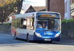 Stagecoach South 37269 (SL64 HXD) Bognor Regis 17/11/17 (jmupton2000) Tags: sl64hxd alexander dennis enviro 200 dart stagecoach south uk bus southdown coastline sussex chichester