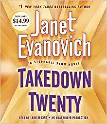 Janet Evanovich book fan photo