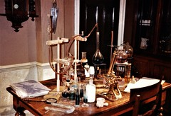 The chemical corner (photo copyright Jean Upton, 1987)