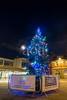 H508_7311 (bandashing) Tags: christmas tree night nightlife hyde market tameside civicsquare lights decoration empty sylhet manchester england bangladesh bandashing aoa socialdocumentary akhtarowaisahmed