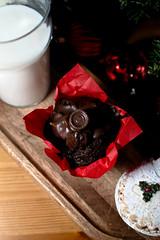 Festive Milk, Mince pie and Chocolate toffee cupcake (glenmcdonald81) Tags: blue