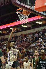 Men's Basketball vs Loyola (Jacob Gralton) Tags: fsu basketball ncaa loyola dunk college sports photography