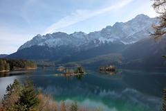 alps for everybody (bkellerstrass) Tags: eibsee zugspitze alpen alps bayern bavaria insel herbst autumn spiegelung reflection