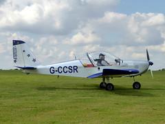 G-CCSR Aerotechnik EV-97A Eurostar cn PFA 315A-14174 Sywell 02Sep17 (kerrydavidtaylor) Tags: orm egbk sywellaerodrome evektoraerotechnik eurostar