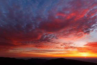 November Sunrise of Shenandoah