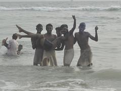 Pose (brendieiniceland) Tags: kerala varkala beach trivandrum india southindia sea blue sand street