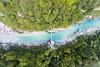 Kobarid (Arthur van Beveren) Tags: slovenië slovenia soča rivier isonzo caporetto kobarid aerial luchtfoto brug bridge river