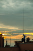 Working (par0tia) Tags: working work height bloc blok krakow kraków sunset people streetphotography street 18105mm sky