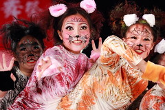 IMG_1188M 臺北 華岡藝校 「貓嬉花間 繽紛臺灣」 2017臺中國際踩舞祭 (陳炯垣) Tags: performance dancing stage girl festival