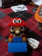 stereotypical italian plumber (Mr Lego Customs) Tags: lego nintendo mario