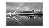 Spannungsbogen (rafischatz... www.rafischatz-photography.de) Tags: dublin calatrava riverliffey samuelbeckettbridge