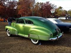 1948 Chevrolet Resto-Rod Pumpkin Run Car Show (Exner Lover) Tags: newjersey eggharbortownship fleming'sjunkyard pumpkinrun carshow restorod fleetline chevrolet1948