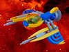 Lacewing Vic Viper (David Roberts 01341) Tags: lego space spaceship minifigure vicviper nnovvember retro deco
