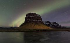 Aurora boreal. Eastern lights. (fdecastrob) Tags: islandia iceland northernlights auroraboreal d750