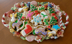Christmas Cookies from the past (WilliamND4) Tags: christmas cookies sweets sugar