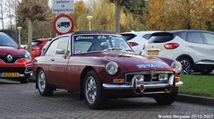 MG B GT V8 1975 (LHD!!) (XBXG) Tags: 90ya71 mg b gt v8 1975 mgb mgbgt bgt gtv8 coupé coupe oud beijerland oudbeijerland nederland holland netherlands paysbas vintage old classic british car auto automobile voiture ancienne anglaise uk vehicle outdoor