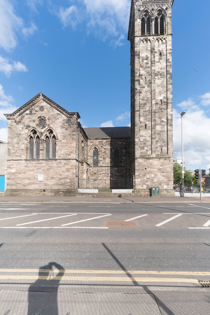 SINCLAIR SEAMENS PRESBYTERIAN CHURCH [CORPORATION SQUARE BELFAST]-134136