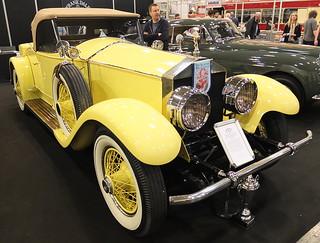 Rolls-Royce Silver Ghost Playboy Roadster Springfield (Brewster) 1926