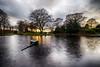 Duthie Park, Aberdeen (John fae Fife) Tags: pond fujifilmx trees xe2 scotland duthiepark aberdeen settingsun