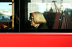 On the Buses (Becky Frances) Tags: beckyfrances city candid colour colourstreetphotography canpubphoto england fuji fujifilm fujix london lensblr light streetphotography socialdocumentary urban uk waterloo 2017