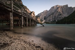 Lago di Braies / Pragser Wildsee at sunset (Massimo Mazza Photography) Tags: lagodibraies mountains dolomites lake longexposure