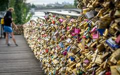 Europe 2015 (D. Kelly) Tags: paris bridge love locks selp1650 europe