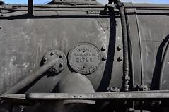 K-27 details (std70040) Tags: k27 denverriogrande steam steamlocomotive steamengine cumbresandtoltec cumbrestoltec denverandriogrande baldwin baldwinlocomotiveworks smokebox buildersplate