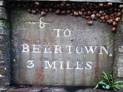 The Beertown Snails (Bridgemarker Tim) Tags: berealston westdevon fingerposts milestones