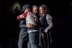 Barack Obama & Michelle Obama with Chance the Rapper (Joshua Mellin) Tags: wintrustarena barackobama obamafoundation theobamafoundation chicago michelleobama barack michelle obama southside chancetherapper chance concert communityconcert obamasummit obamafoundationsummit 2017 october november autumn fall best year end joshuamellin photographer writer forbes reporter photo photos pic pictures hug hat 3 sweater dress suit chitown community chancelorbennett chancelor bennett age networth president presidential politics music live pics grammy grammys flotus firstlady obamas history obamaorg website stream icons legends rap hiphop rapper acidrap coloringbook newera newera3hat newerachancehat chancehat snl