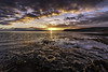Scar (Dave Cappleman) Tags: whitby whitbydistrict dawn sunrise colours sea sky clouds sand patterns water bay