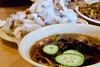 Hong Kong Ban Jum San Jose / Paik's Noodles (grendel7469) Tags: hongkong hk noodles noode scissors daikon radish pork friedpok fried food foodporn sweetandsour sweetandsourpork korean koreanfood