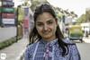 Shrikruthi (Frankhuizen Photography) Tags: bangalore india 2017 portret portrait smile glimlach bengaluru karnataka street straat streetlife photography fotografie kleur color colour people posed geposeerd woman ngr shrikruthi