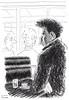 Café Le Sélect 179 (Rick Tulka) Tags: paris café caricature pencil drawing sketchbook lesélect montparnasse