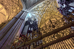 Let There Be Light (StevePilbrow) Tags: seville cathedral spain andalusia organ pipe instrument architecture architect gate holy biblical historic old church catholic christianity costa de la luz southern nikon d7200 nikkor 18105mm june 2017