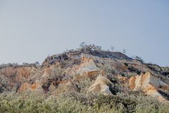 Fraser/k'gari - the pinnacles (burntfeather) Tags: paradise 2017 kgari sandisland camping largestsandisland fraserisland fraser australia queensland pinnacles colouredsands cathedrals